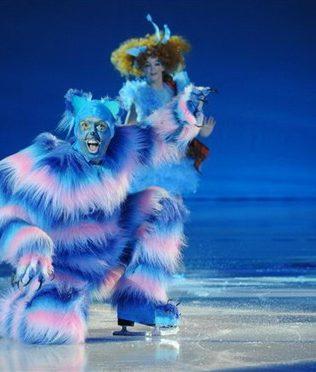 Работали на спектакле «Алиса в Стране чудес на льду»