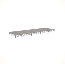 Сценический сборный подиум 10800×3600