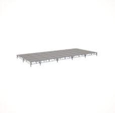Сценический сборный подиум 10800×4800