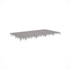Сценический сборный подиум 10800×6000