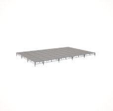 Сценический сборный подиум 10800×7200