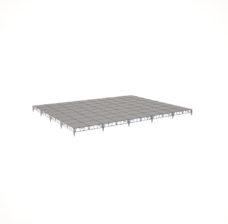 Сценический сборный подиум 12000×9600