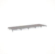 Сценический сборный подиум 12000×3600