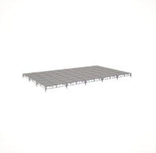 Сценический сборный подиум 12000×7200