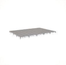 Сценический сборный подиум 12000×8400