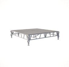 Сценический сборный подиум 2400×2400
