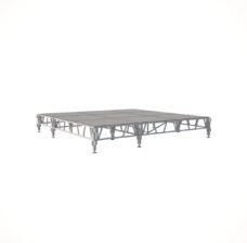 Сценический сборный подиум 3600×3600