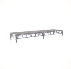 Сценический сборный подиум 4800×1200