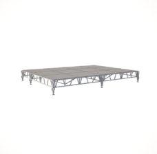 Сценический сборный подиум 4800х3600