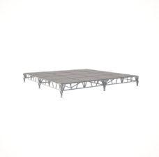 Сценический сборный подиум 4800×4800