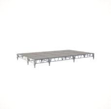 Сценический сборный подиум 6000×3600
