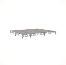 Сценический сборный подиум 6000×4800