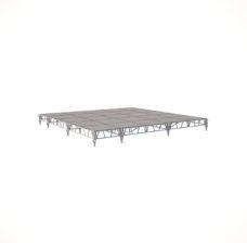 Сценический сборный подиум 6000×6000