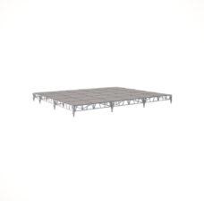 Сценический сборный подиум 7200×6000