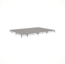 Сценический сборный подиум 8400×6000