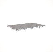 Сценический сборный подиум 9600×6000