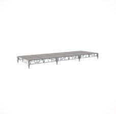 Сценический сборный подиум 7200×2400