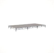 Сценический сборный подиум 7200×3600