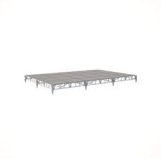 Сценический сборный подиум 7200×4800