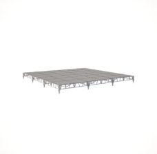 Сценический сборный подиум 7200×7200