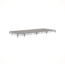 Сценический сборный подиум 8400×3600