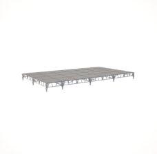 Сценический сборный подиум 8400×4800