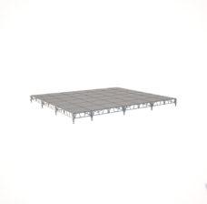 Сценический сборный подиум 8400×7200