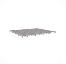 Сценический сборный подиум 10800×10800