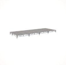 Сценический сборный подиум 9600×3600