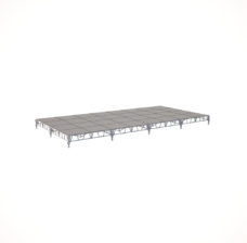 Сценический сборный подиум 9600×4800