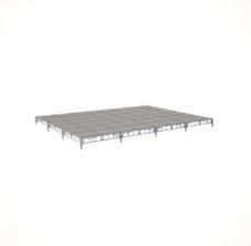Сценический сборный подиум 9600×7200