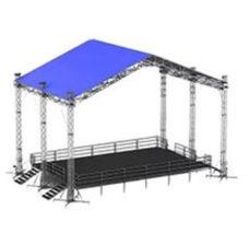 Сценический комплекс 12,4х9 с подиумом